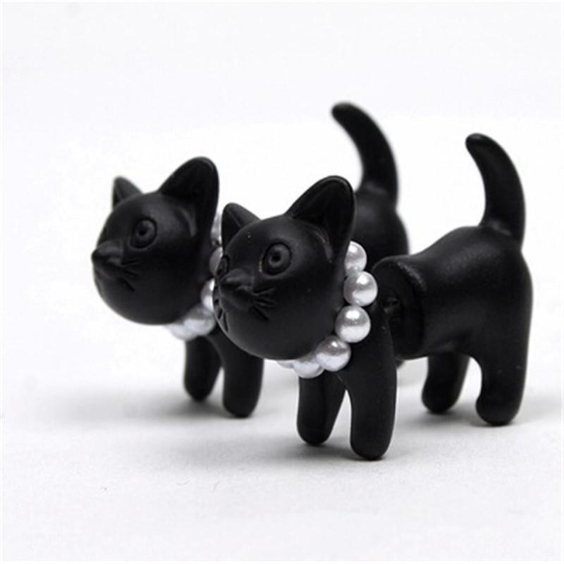 1 Pc. 3D Cat Earrings - Gear Stop Shop