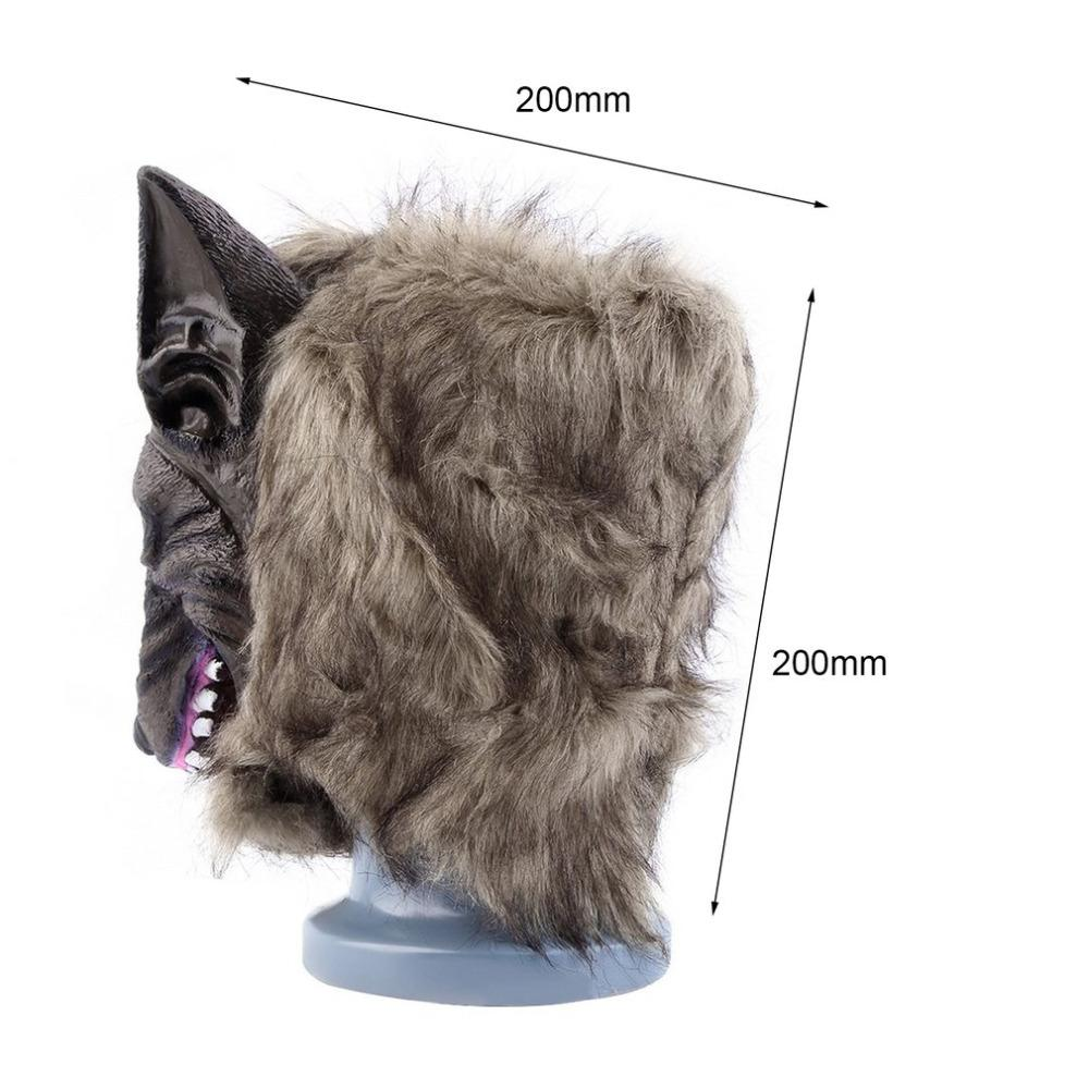 Animal Wolf Head Mask - Gear Stop Shop