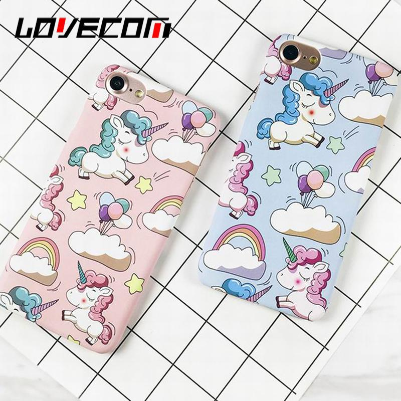 Cute Rainbow Horse Phone Case