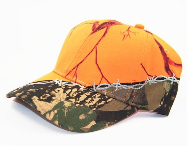 Artistic Orange Camouflage Cap - Gear Stop Shop