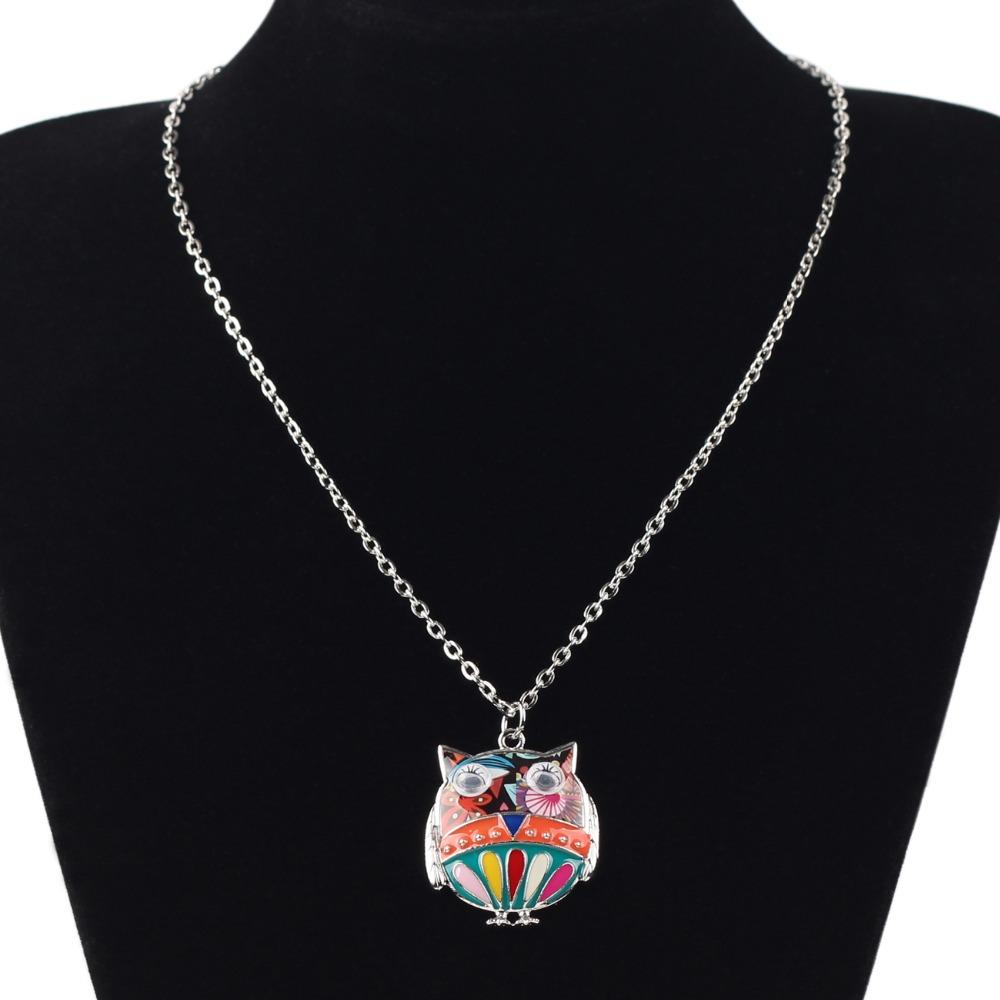Alloy Owl Necklace - Gear Stop Shop
