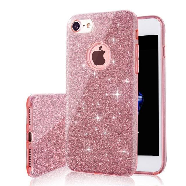 3 IN 1 Gradient Glitter Phone Case - Gear Stop Shop