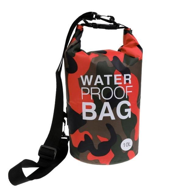 10L Camouflage Waterproof Sports Dry Bag - Gear Stop Shop