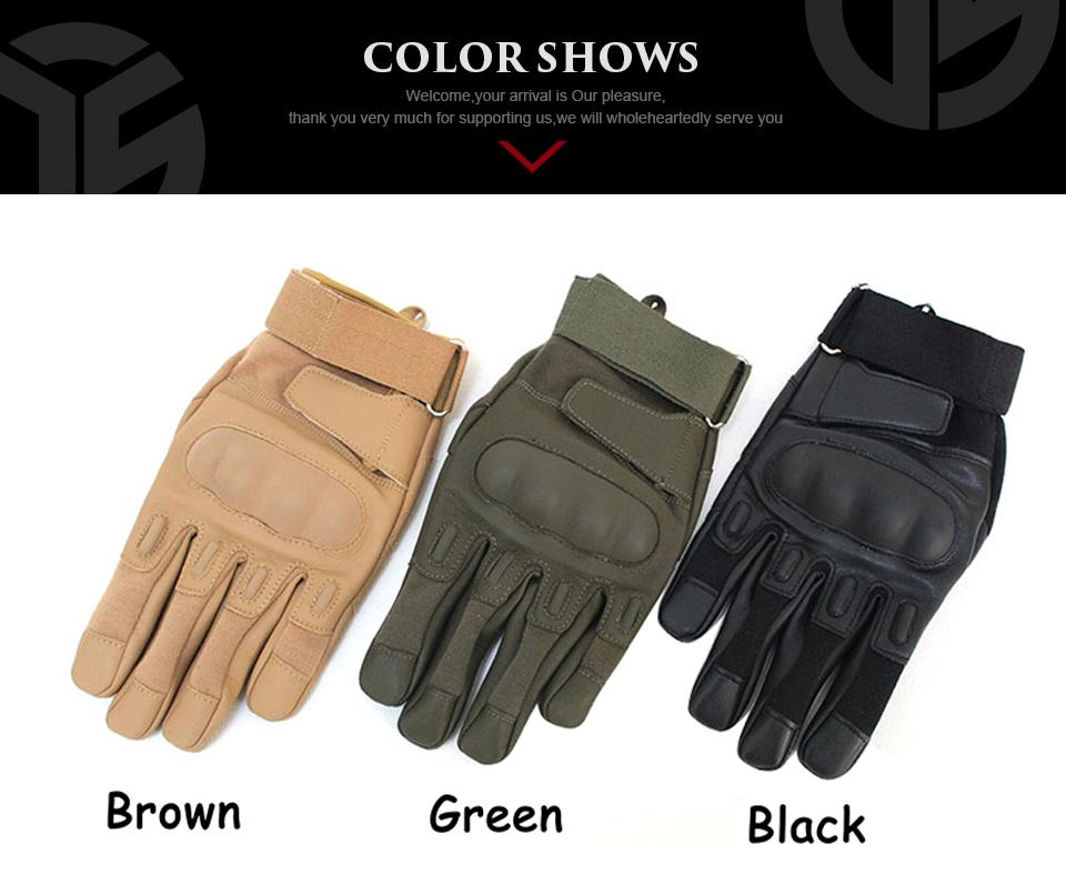 BlackHawk Tactical Leather Gloves - Gear Stop Shop