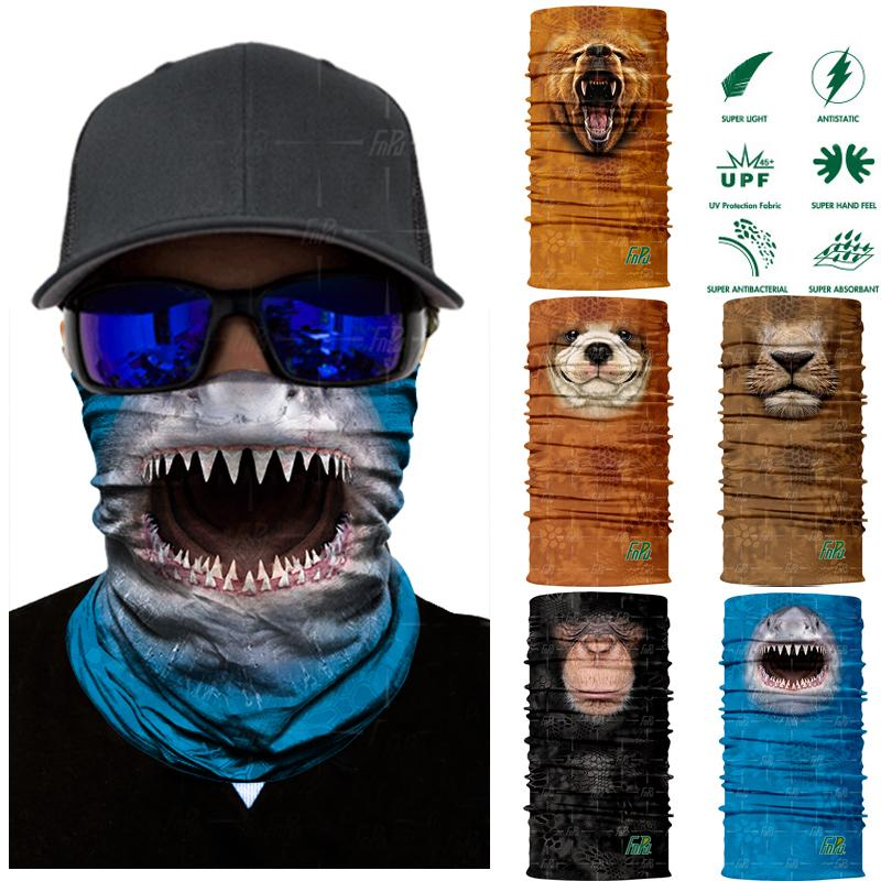 3D Seamless Cut Animal Neck and Face Mask - Gear Stop Shop