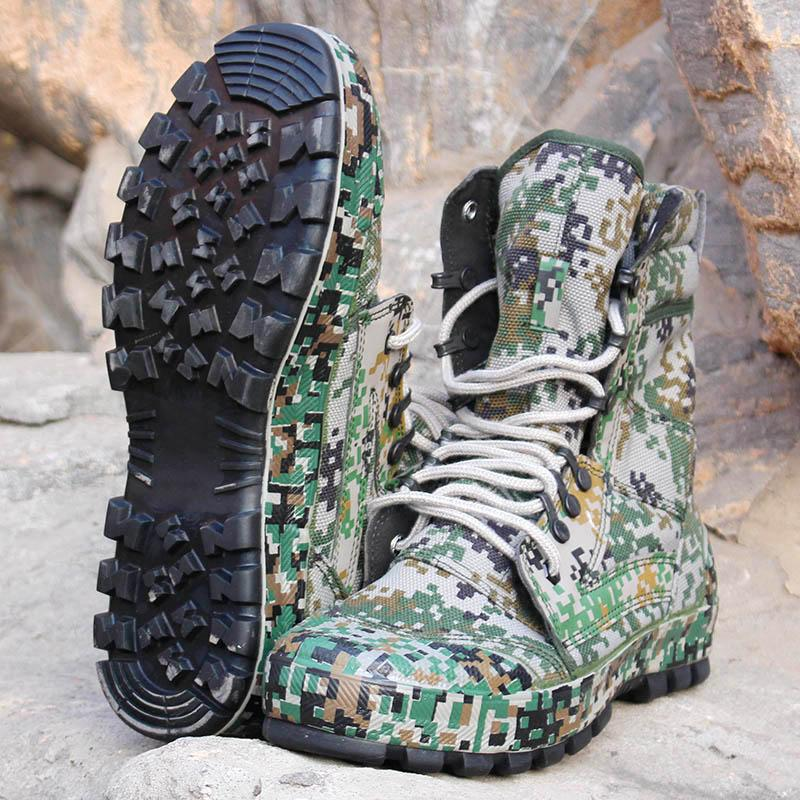 Camouflage Tactical Boots - Gear Stop Shop