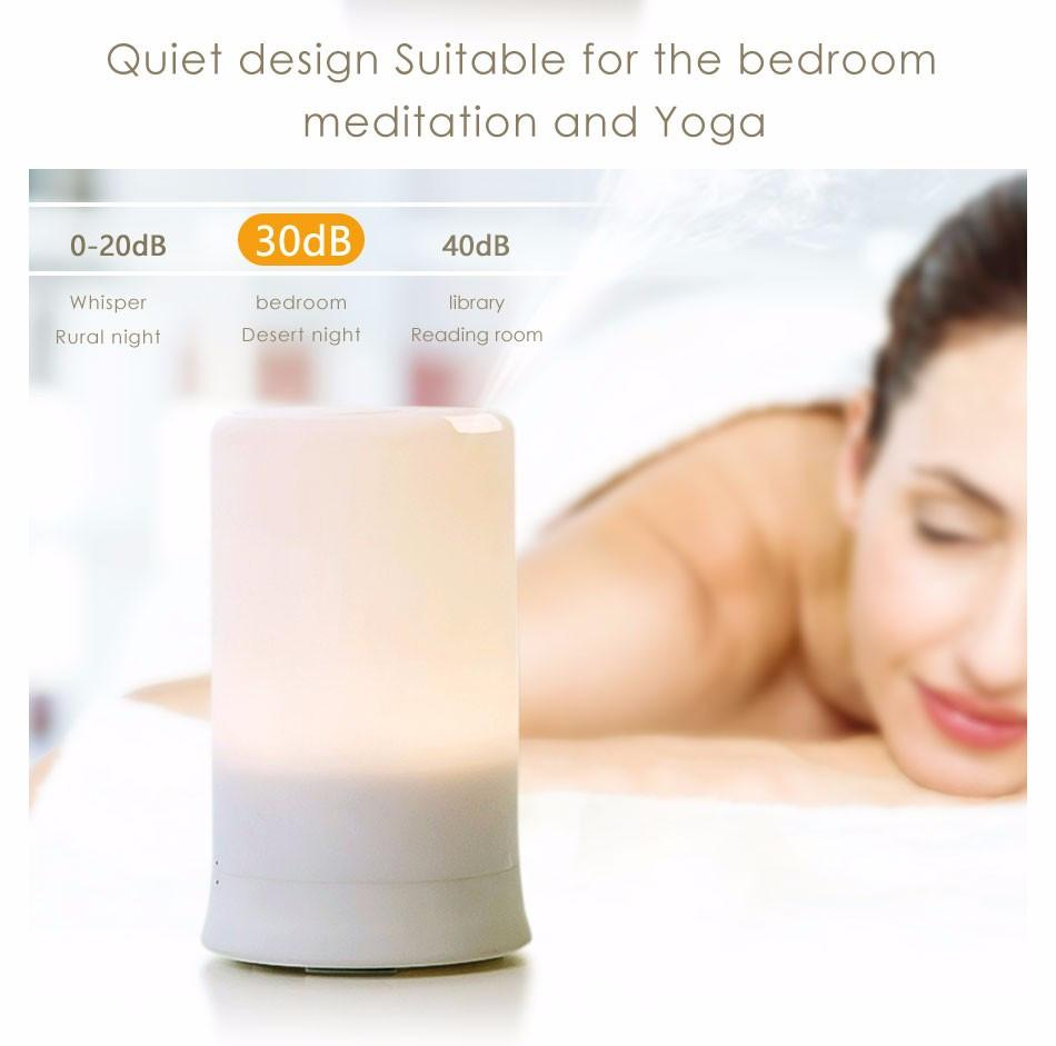 Ultrasonic Aroma Air humidifier with LED light