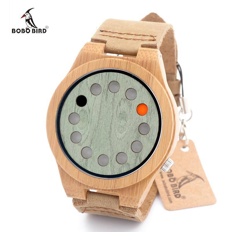 Designer Fashion Bamboo Watch