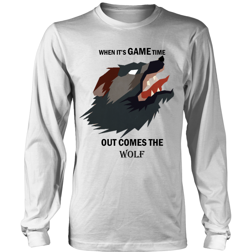 Wolf District Long Sleeve Shirt