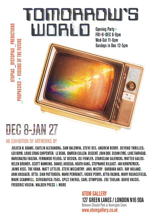 Tomorrow's World at Atom gallery