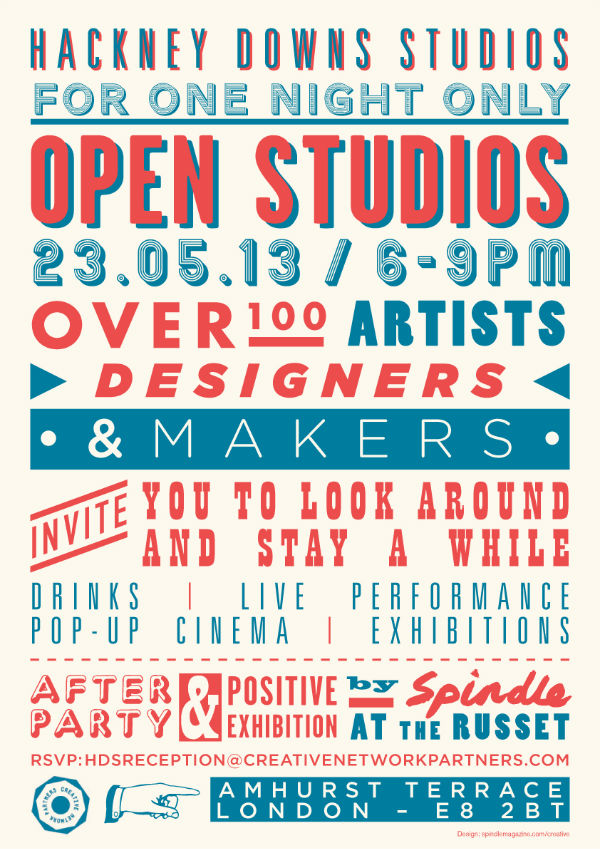 Hackney Downs Studios Open Day