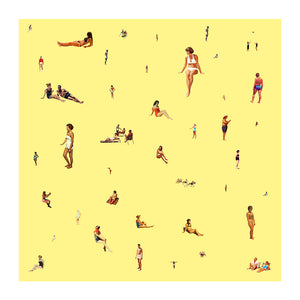Bathers on Yellow