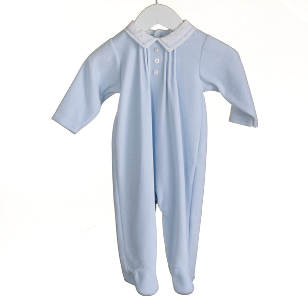 KK0607 - BABY BOYS VELOUR SLEEPER (6PCS)