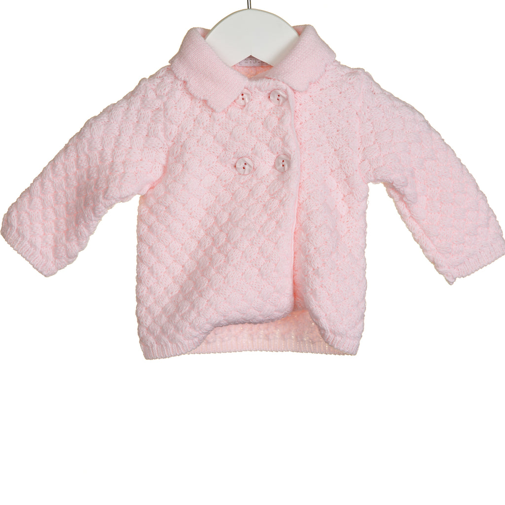 KK0654 - GIRLS CROSS STITCH CARDIGAN (6 PCS)