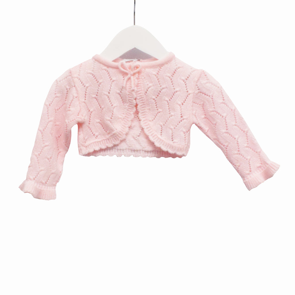 KK0657 - BABY GIRLS KNITTED CARDIGAN (6PCS / 8PCS) - SALE