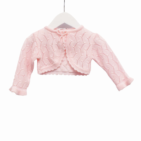KK0657 - BABY GIRLS KNITTED CARDIGAN ***30% OFF*** (6PCS / 8PCS)