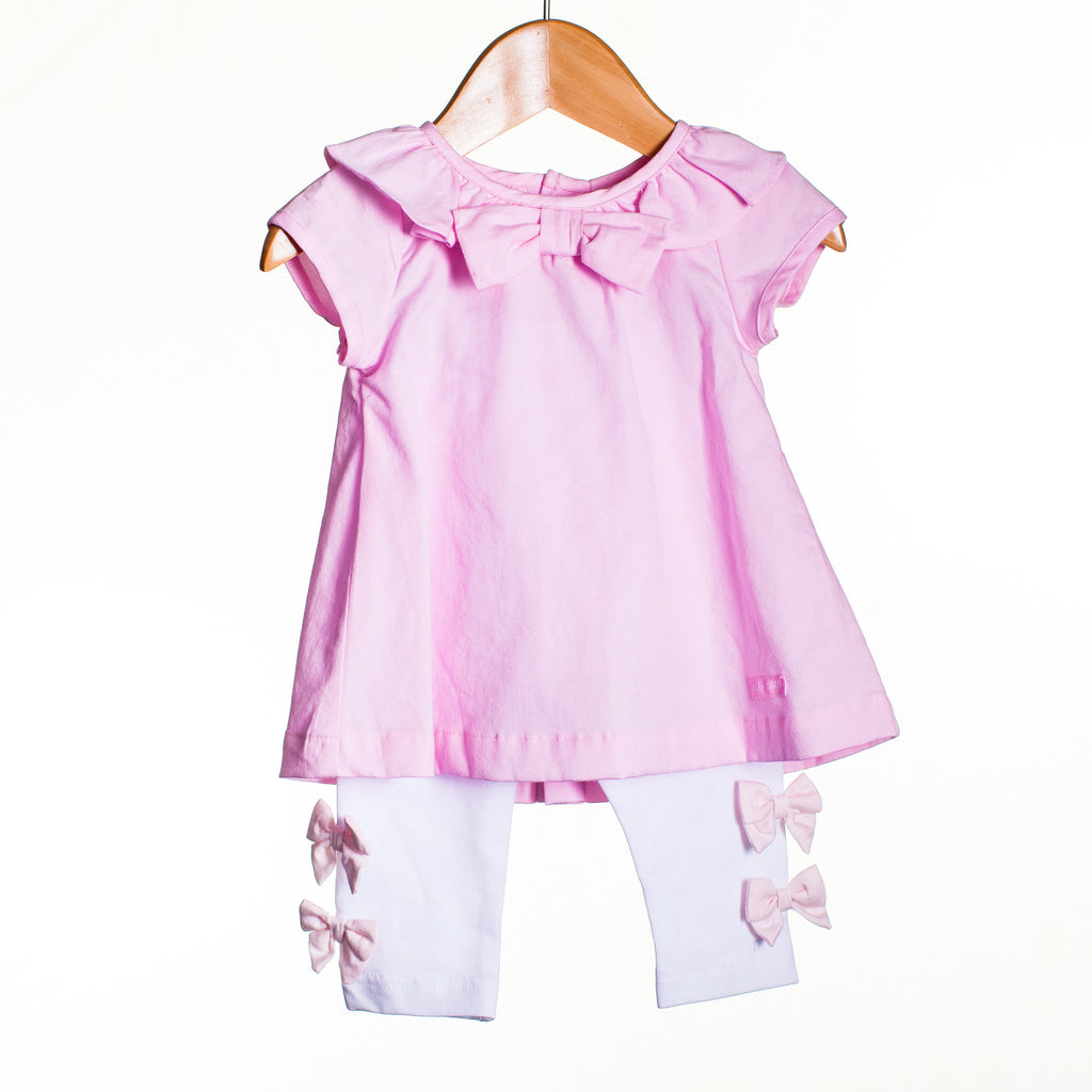 LL0004 - BABY GIRLS TOP AND LEGGINGS (6PCS)