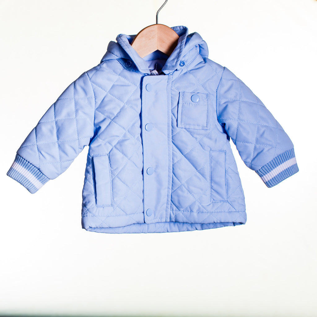 LL0053 - BABY BOYS QUILTED JACKET (6PCS)