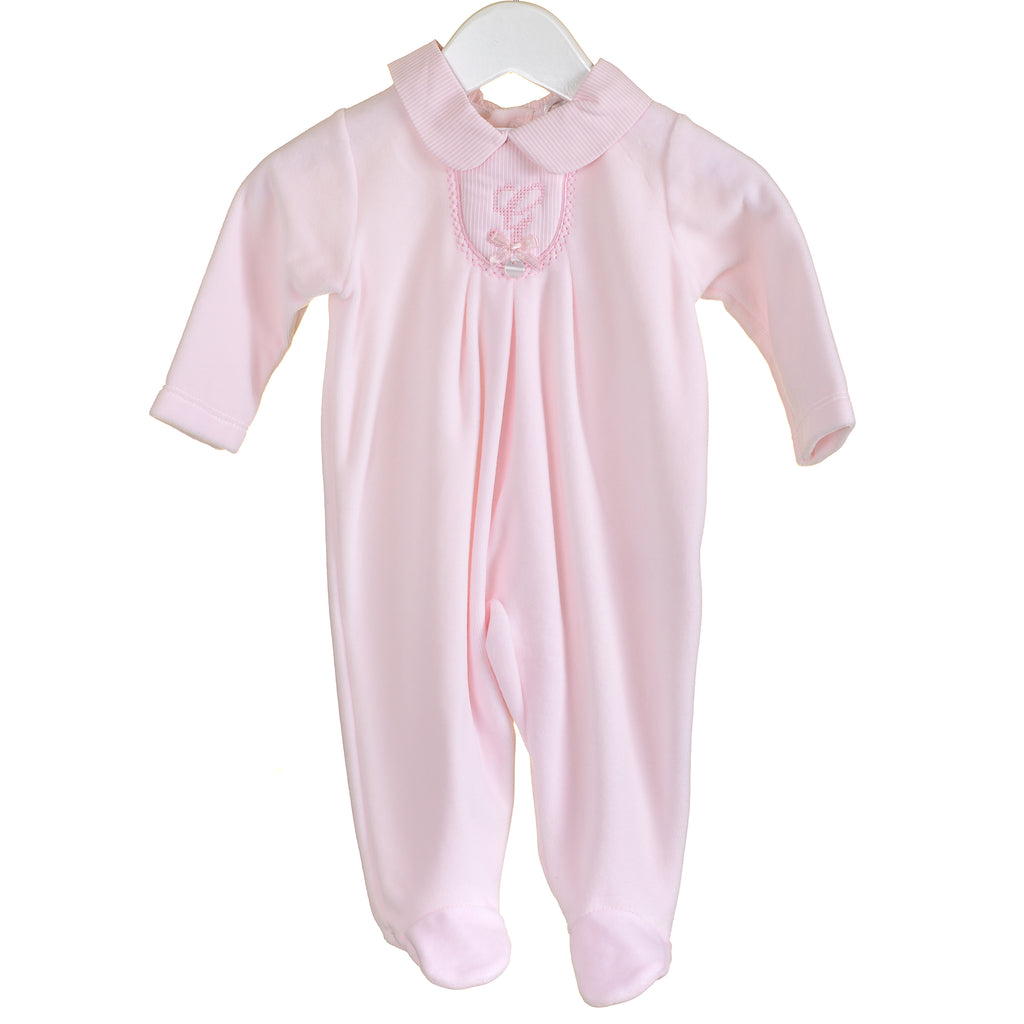 LL0359 - VELOUR SLEEPER IN PINK (6PCS)