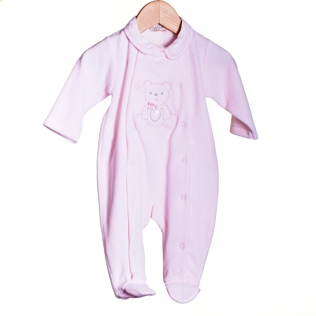 LL0363A - BABY VELOUR SLEEPER (6PCS)