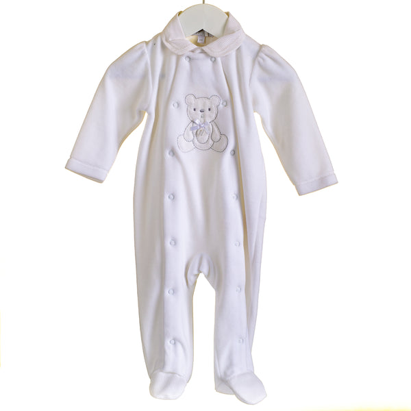 LL0363 - BABY UNISEX VELOUR SLEEPER (6PCS)
