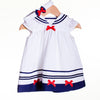 LL0413 - BABY GIRLS WOVEN DRESS WITH HEADBAND (6PCS)