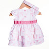 LL0420 - BABY GIRLS WOVEN DRESS WITH HEADBAND (6PCS)