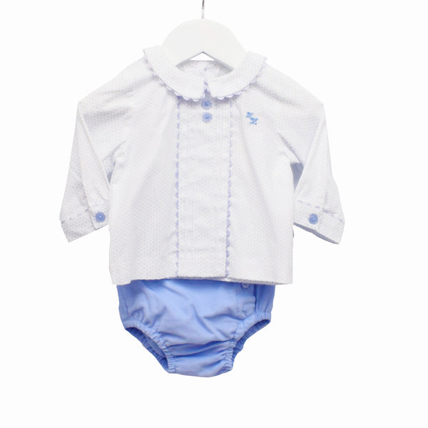 AW - MM0013 - BABY BOYS 2 PC SET SHIRT AND JAM PANTS (6PCS)