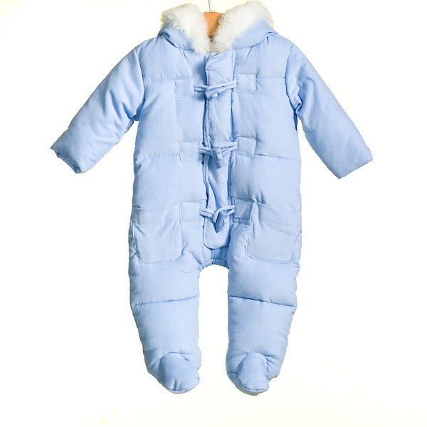 AW - MM0021 - BABY BOYS DUFFLE PRAMSUIT (6PCS)
