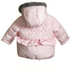 AW - MM0028 - BABY GIRLS QUILTED PADDED COAT (6PCS)