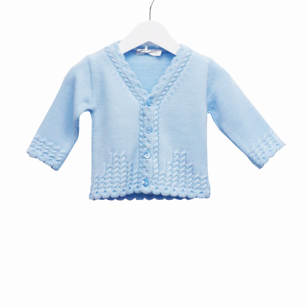 MM0176 - BABY BOYS KNITTED CARDIGAN (6PCS)