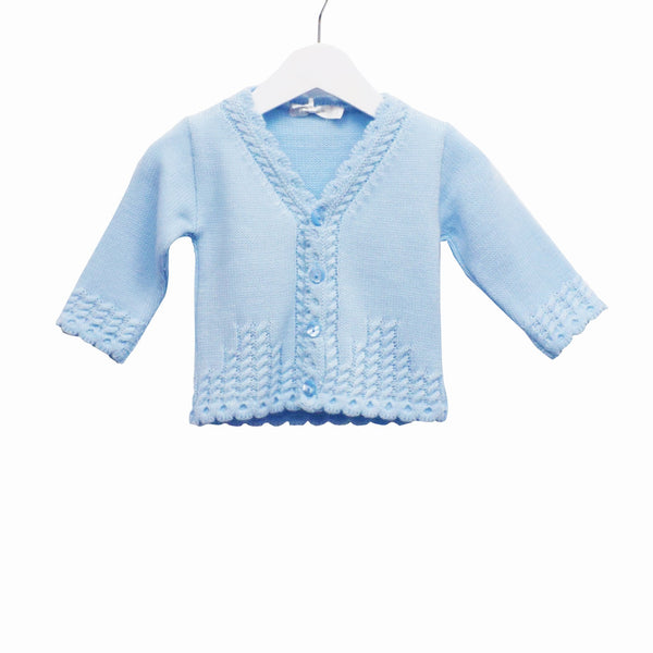R-MM0176 - BABY BOYS KNITTED CARDIGAN