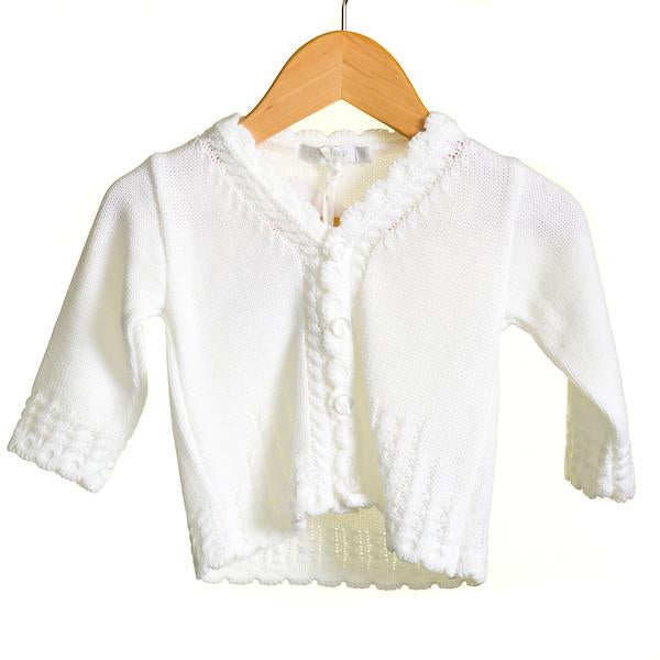 R-MM0177 - BABY UNISEX KNITTED CARDIGAN