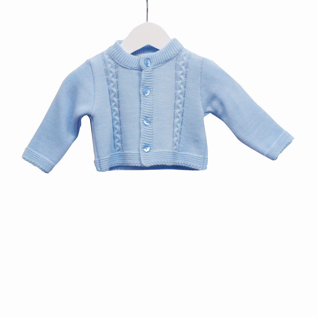 MM0178 - BABY BOYS KNITTED CARDIGAN (6PCS)