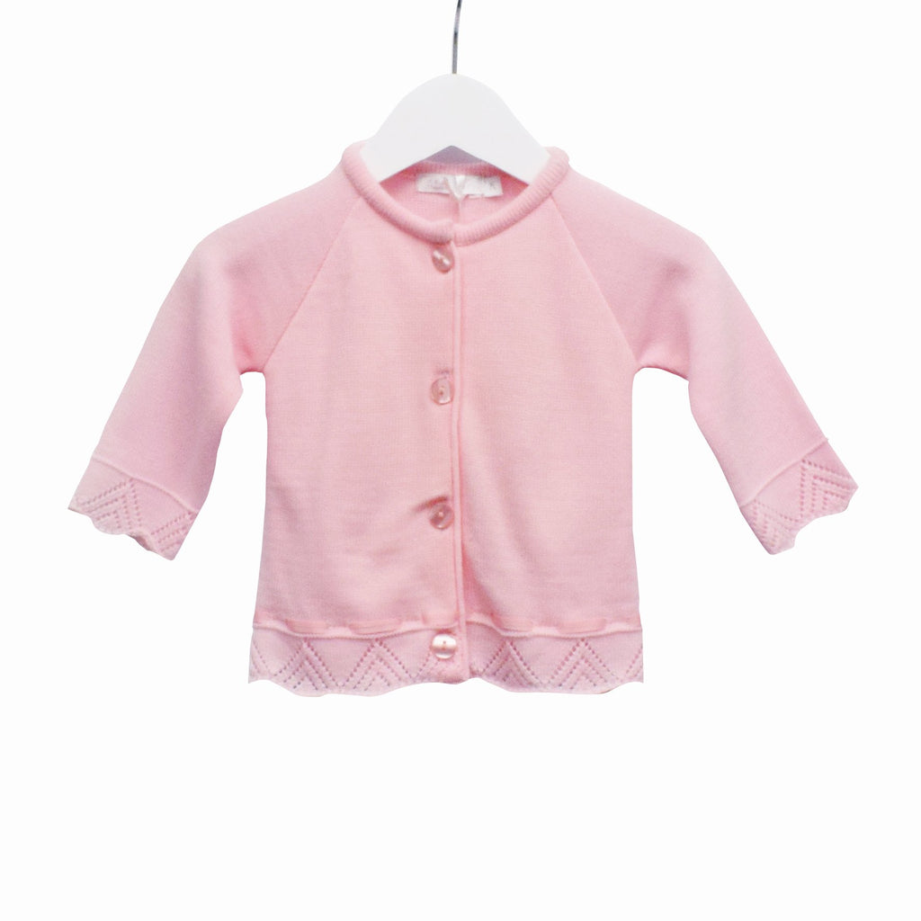R-MM0182 - BABY GIRLS KNITTED CARDIGAN
