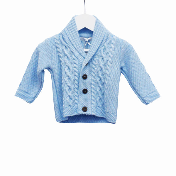 MM0188 - BABY BOYS KNITTED CARDIGAN (6PCS)