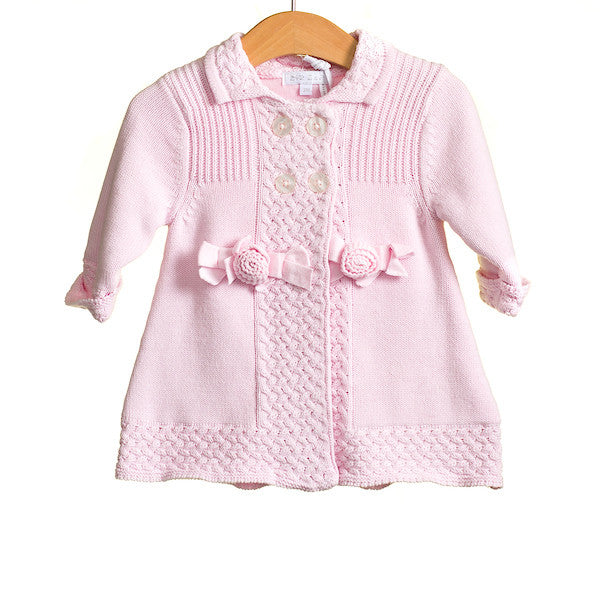 MM0228A - BABY GIRLS KNITTED MATINEE COAT (6PCS)