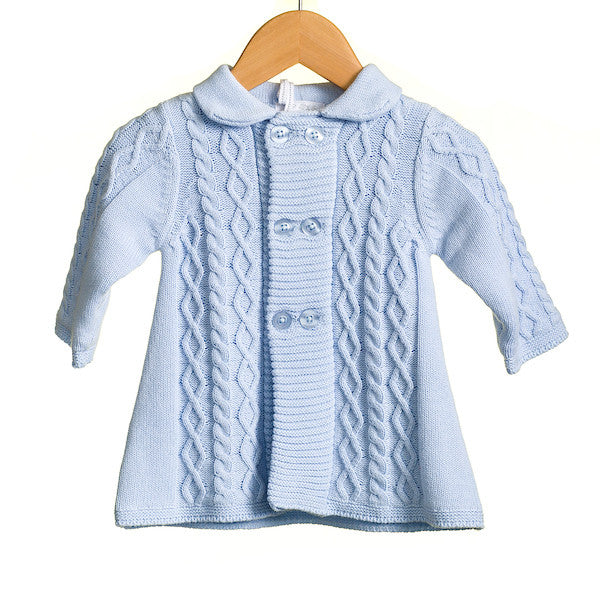 MM0229 - BABY BOYS MATINEE COAT (6PCS)