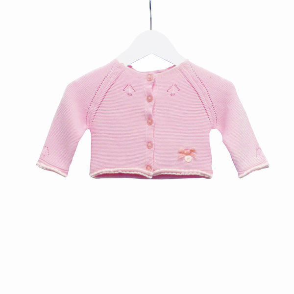 MM0230A - BABY GIRLS KNITTED CARDIGAN (6PCS)