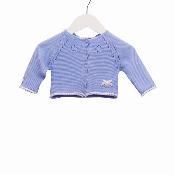 MM0232 - BABY BOYS KNITTED CARDIGAN ***30% OFF*** (6PCS)