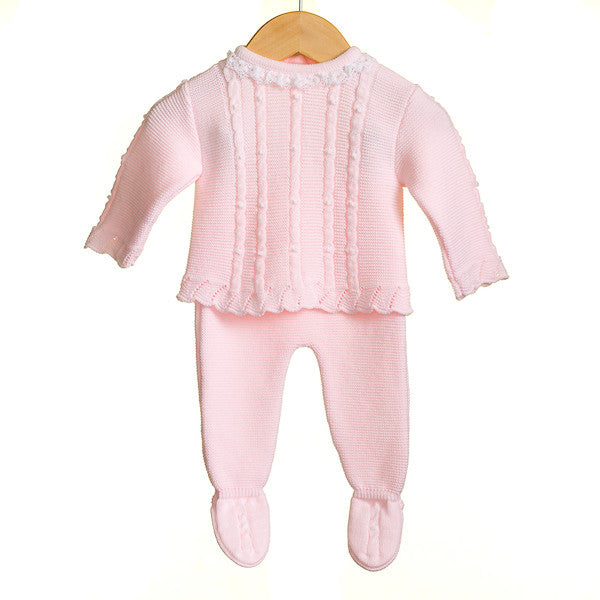 MM0301 - BABY GIRLS 2 PC TOP AND TROUSER SET (6 PCS)