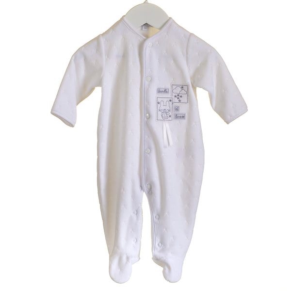 AW - MM0352 - BABY UNISEX VELOUR SLEEPER (6PCS)