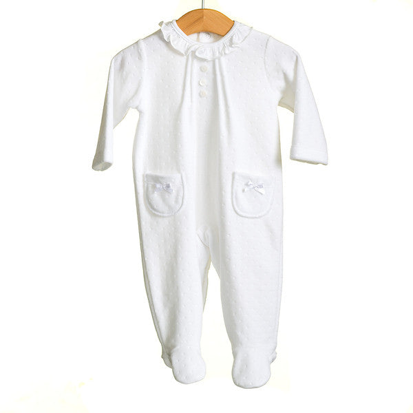 MM0353 - BABY UNISEX VELOUR SLEEPER (6PCS)