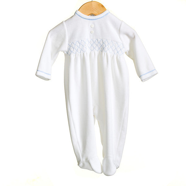 MM0355A - BABY UNISEX VELOUR SLEEPER (6PCS)