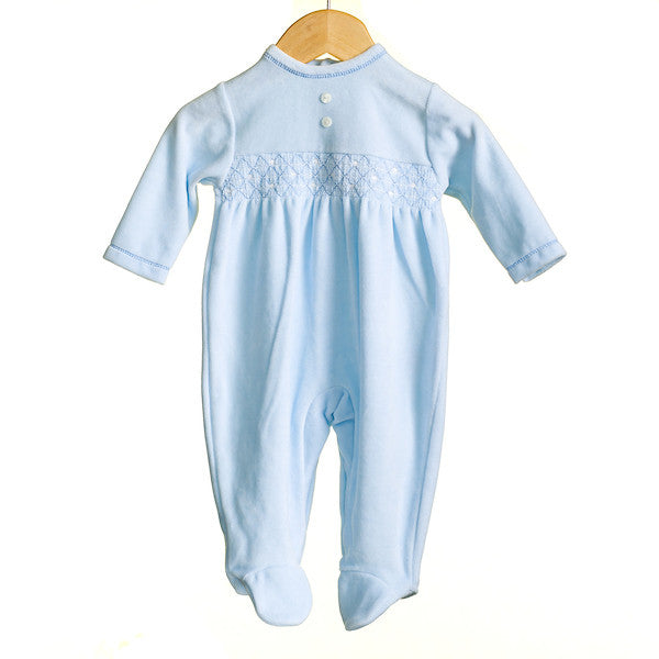 MM0355 - BABY BOYS VELOUR SLEEPER (6PCS)