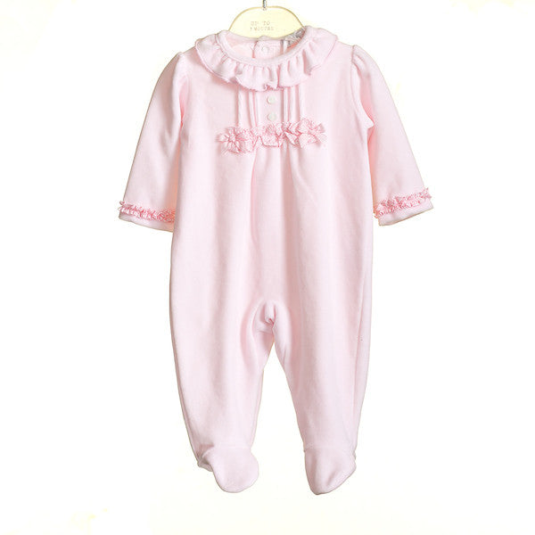 AW - MM0365 - BABY GIRLS VELOUR SLEEPER (6PCS)