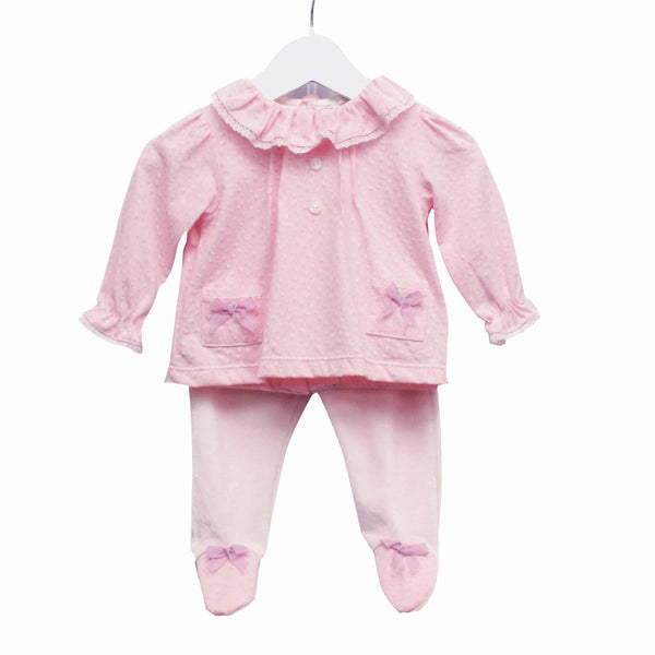 MM0371 - BABY GIRLS 2 PC SET TOP AND TROUSERS ***25% OFF*** (6PCS)