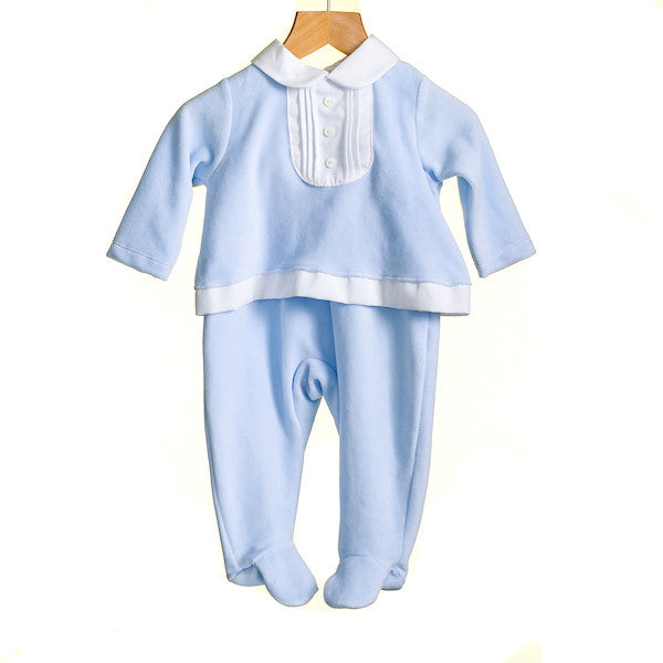 MM0378 - BABY BOYS MOCK 2 PC SET (6PCS)