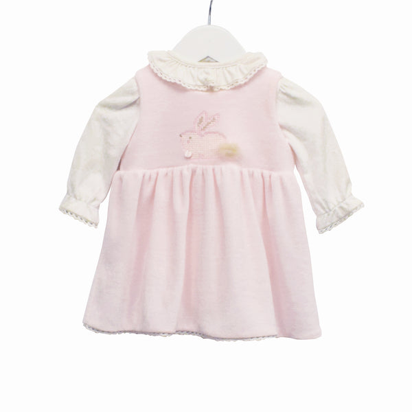MM0391 - BABY GIRLS 2 PC BODYSUIT AND PINAFORE (6PCS)