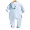 MM0395 - BABY BOYS VELOUR PRAMSUIT (3 PCS)